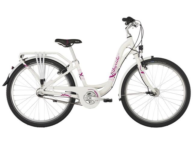 "Puky Skyride Light 24"" - Vélo enfant - 3-cours blanc"